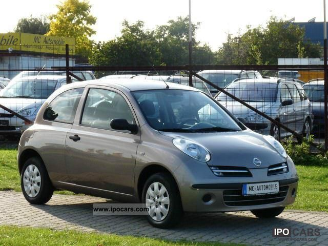 2007 nissan micra 1 2 visia car photo and specs. Black Bedroom Furniture Sets. Home Design Ideas