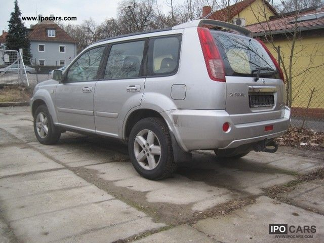 2005 nissan x trail 2 2 dci 4x4 comfort car photo and specs. Black Bedroom Furniture Sets. Home Design Ideas