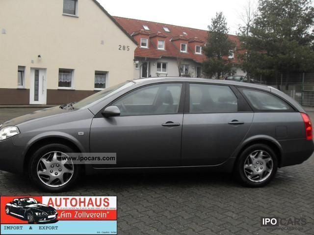 2005 nissan primera traveller 1 8 visia plus car photo and specs. Black Bedroom Furniture Sets. Home Design Ideas