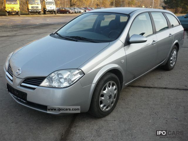 2005 nissan primera traveller 1 8 car photo and specs. Black Bedroom Furniture Sets. Home Design Ideas