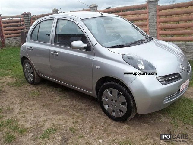 2005 nissan micra car photo and specs. Black Bedroom Furniture Sets. Home Design Ideas
