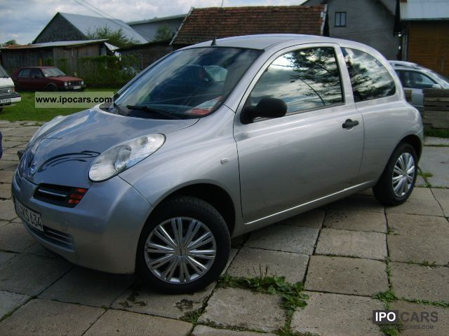 2003 Nissan  1.5 dCi 3 DZRWI AIR SUPER zobacz Small Car Used vehicle photo