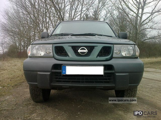 2003 Nissan  Terrano II Diesel four-wheel Off-road Vehicle/Pickup Truck Used vehicle photo