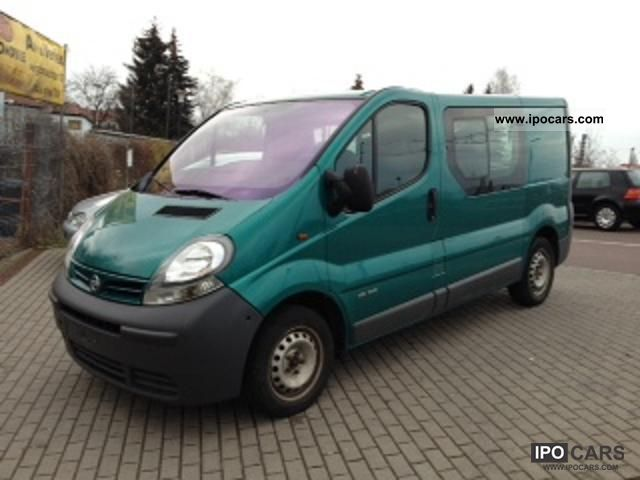2003 Nissan  Primastar Dci 100 L1H1 Van / Minibus Used vehicle photo