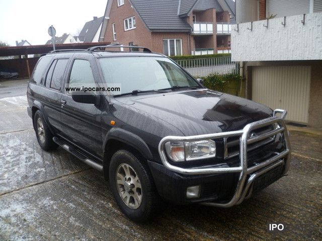 2000 Nissan Pathfinder 3 3 V6 4x4 fully equipped Mod 2001