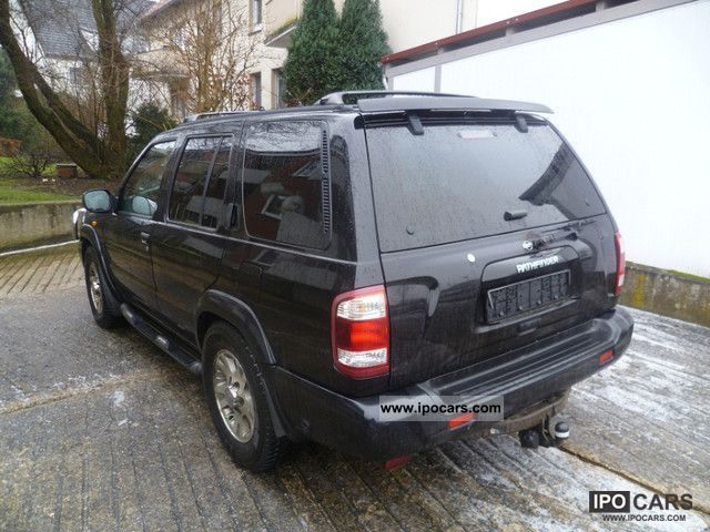 2000 nissan pathfinder 3 3 v6 4x4 fully equipped mod 2001 car photo and specs ipocars com