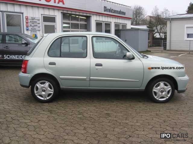2003 Nissan Mirca 1.0 Elegance 5-door - Car Photo and Specs