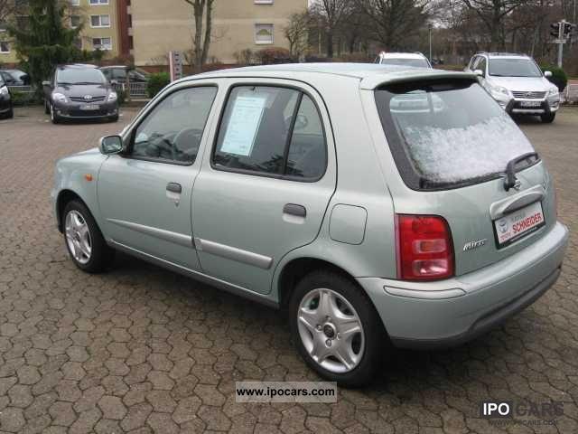 Volvo Of Princeton >> 2003 Nissan Mirca 1.0 Elegance 5-door - Car Photo and Specs