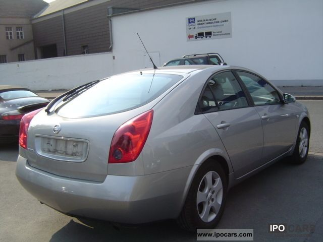 2005 nissan primera 1 9 dci acenta reversing camera navigation car photo and specs. Black Bedroom Furniture Sets. Home Design Ideas