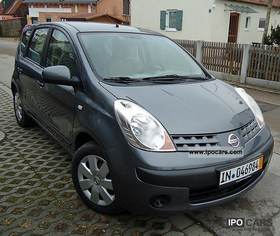 2006 nissan note 1 4 car photo and specs. Black Bedroom Furniture Sets. Home Design Ideas