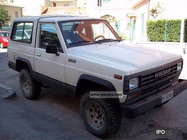 Sunny King Ford >> 1988 Nissan WRG160 Patrol turbo diesel station wagon - Car ...