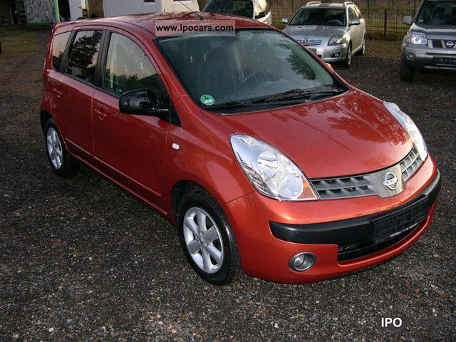 2007 nissan note 1 5 dci 1 hand full service history air car photo and specs. Black Bedroom Furniture Sets. Home Design Ideas