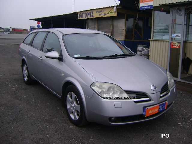 2005 nissan primera 1 9 dci diesel car photo and specs. Black Bedroom Furniture Sets. Home Design Ideas