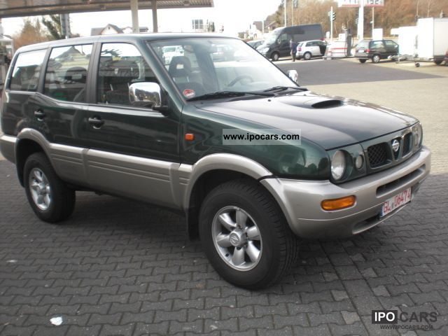 1999 nissan terrano ii 2 7 tdi car photo and specs. Black Bedroom Furniture Sets. Home Design Ideas