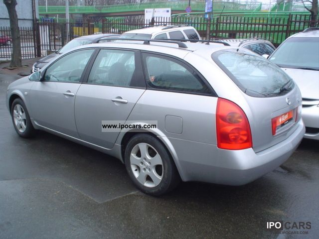2005 nissan primera 1 9 dci acenta salon polska car photo and specs. Black Bedroom Furniture Sets. Home Design Ideas