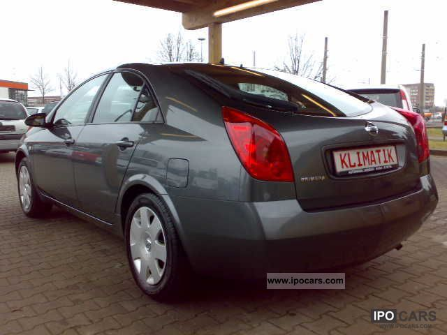 2005 nissan primera 1 8 reversing camera climatronic car photo and specs. Black Bedroom Furniture Sets. Home Design Ideas