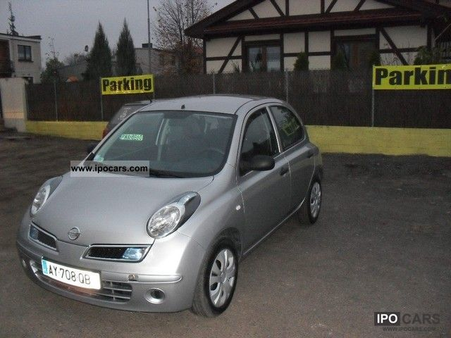 2008 nissan micra dci car photo and specs. Black Bedroom Furniture Sets. Home Design Ideas