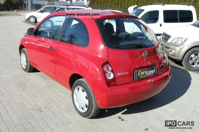 2009 nissan micra 1 3 65km serwisowany car photo and specs. Black Bedroom Furniture Sets. Home Design Ideas