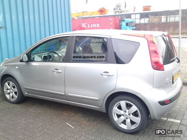 2006 nissan note 1 5 dci car photo and specs. Black Bedroom Furniture Sets. Home Design Ideas