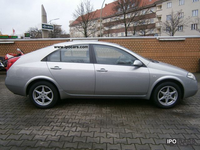 2005 nissan primera 1 6 visia klimaautomatik 82000km car photo and specs. Black Bedroom Furniture Sets. Home Design Ideas