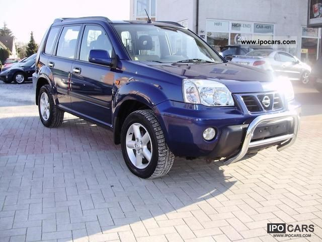 2003 nissan x trail 2 2 dci 4x4 guterzustand euro3 6gang car photo and specs. Black Bedroom Furniture Sets. Home Design Ideas