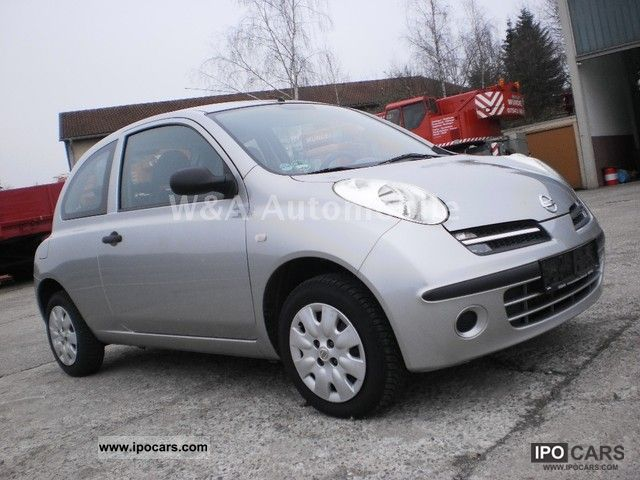 2007 nissan micra 1 2 air car photo and specs. Black Bedroom Furniture Sets. Home Design Ideas