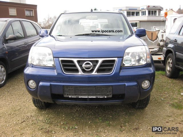 2003 nissan x trail 2 5 4x4 elegance car photo and specs. Black Bedroom Furniture Sets. Home Design Ideas