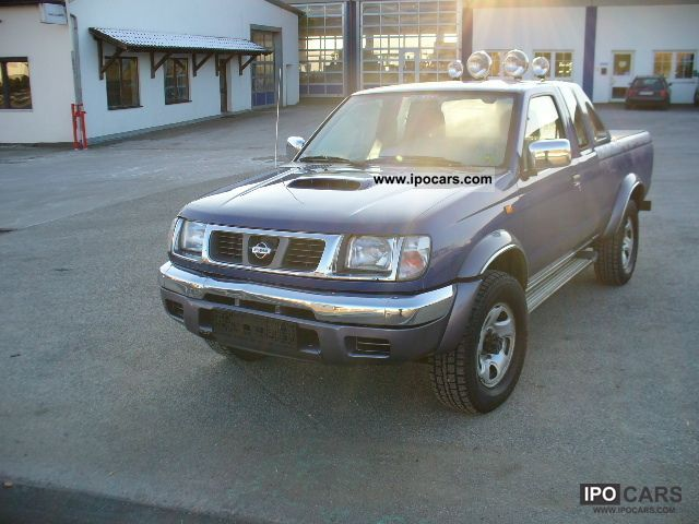 1998 nissan pick up 4wd king cab navara car photo and specs. Black Bedroom Furniture Sets. Home Design Ideas