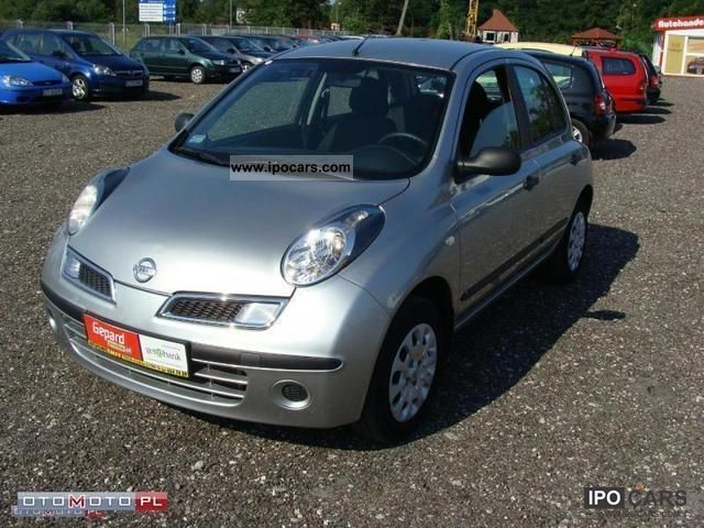 2008 nissan micra car photo and specs. Black Bedroom Furniture Sets. Home Design Ideas