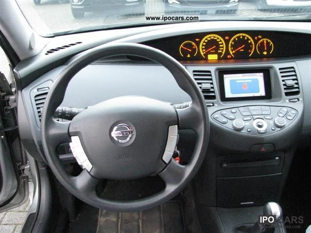 2005 Nissan Primera Trav 1 8 Car Photo And Specs