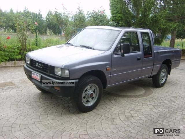 1990 nissan isuzu 4x4 pick up campo 2 2 td posti ottimo car photo and specs. Black Bedroom Furniture Sets. Home Design Ideas