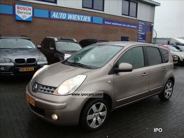 2008 Nissan Note 1.6I 16V LIFE 81KW - Car Photo and Specs