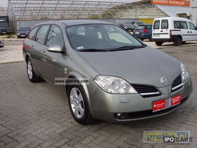 2005 nissan primera car photo and specs. Black Bedroom Furniture Sets. Home Design Ideas