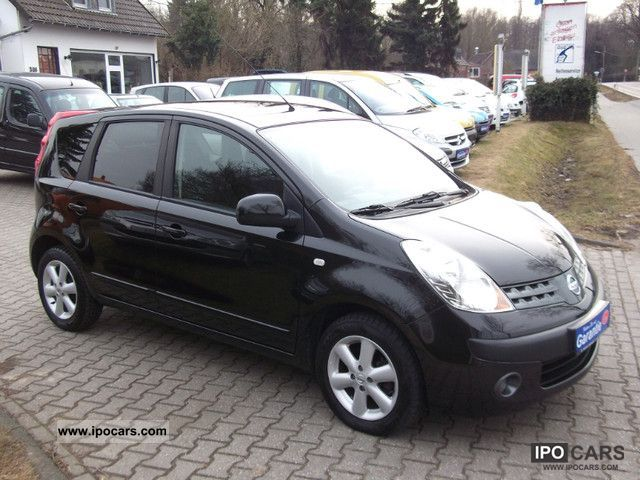 2007 nissan note 1 4 top condition car photo and specs. Black Bedroom Furniture Sets. Home Design Ideas