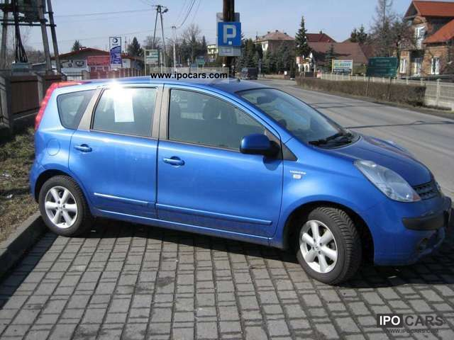 2006 nissan note car photo and specs. Black Bedroom Furniture Sets. Home Design Ideas