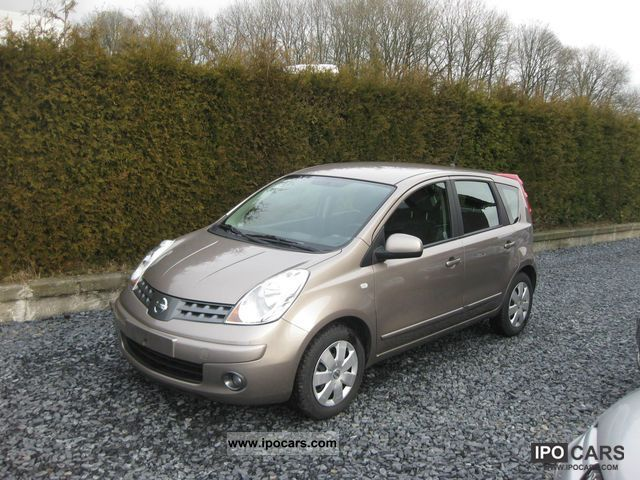 2008 nissan note 1 5 dci acenta 86 ch car photo and specs. Black Bedroom Furniture Sets. Home Design Ideas