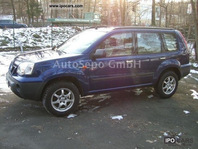 2003 nissan x trail 2 2 dci 4x4 checkbook servo funkfernbed car photo and specs. Black Bedroom Furniture Sets. Home Design Ideas