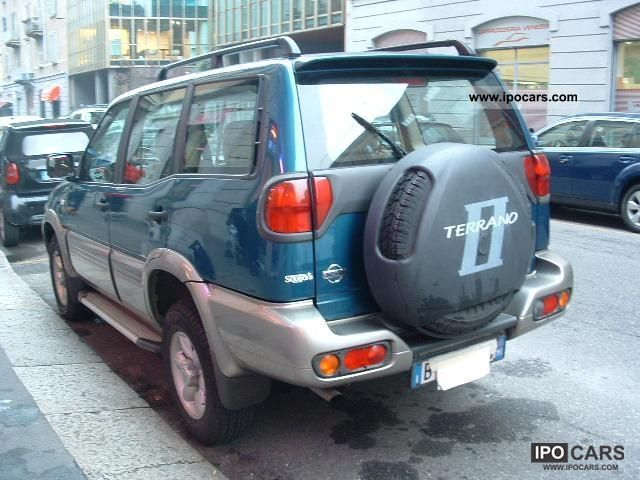 2002 nissan terrano ii 2 7 tdi elegance 5 porte car. Black Bedroom Furniture Sets. Home Design Ideas