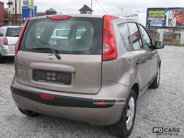 2007 Nissan Note - Car Photo and Specs