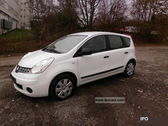 2008 nissan note 1 5 dci visia car photo and specs. Black Bedroom Furniture Sets. Home Design Ideas