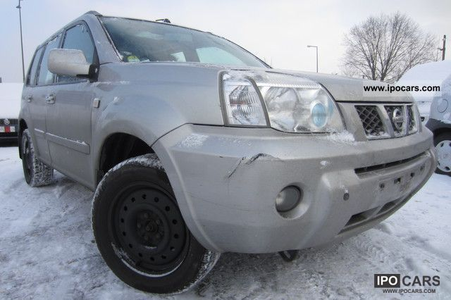 2005 Nissan  X-TRAIL WHEEL LEATHER + AIR + controls + NAVI + BIG Off-road Vehicle/Pickup Truck Used vehicle photo