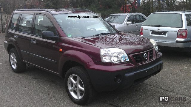 2002 nissan x trail 2 0 4x4 comfort car photo and specs. Black Bedroom Furniture Sets. Home Design Ideas