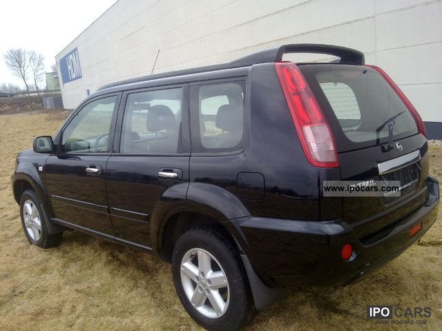 2004 nissan x trail 2 5 4x4 glass sunroof car photo and. Black Bedroom Furniture Sets. Home Design Ideas