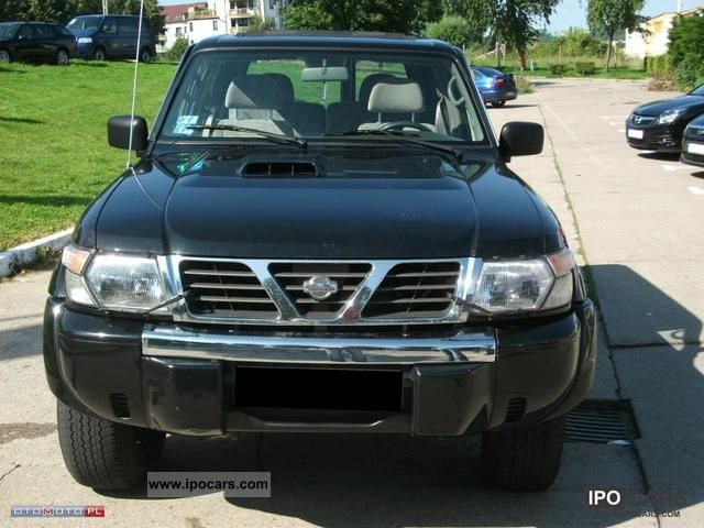 2000 Nissan  Patrol GR Y61 II SERWIS Off-road Vehicle/Pickup Truck Used vehicle photo