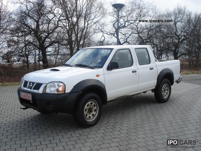 2004 nissan pick up 4wd navara car photo and specs. Black Bedroom Furniture Sets. Home Design Ideas