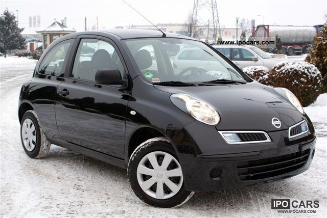 2010 Nissan  Micra gwarancja Bezwypadkowy climate Other Used vehicle photo