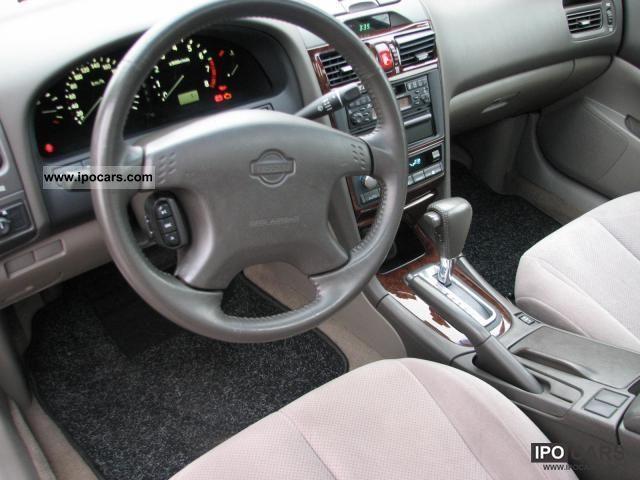 2001 Nissan Maxima Qx Elegance Car Photo And Specs