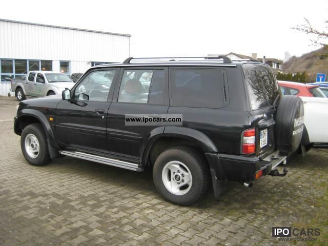 2002 nissan patrol gr 3 0 di luxury car photo and specs. Black Bedroom Furniture Sets. Home Design Ideas
