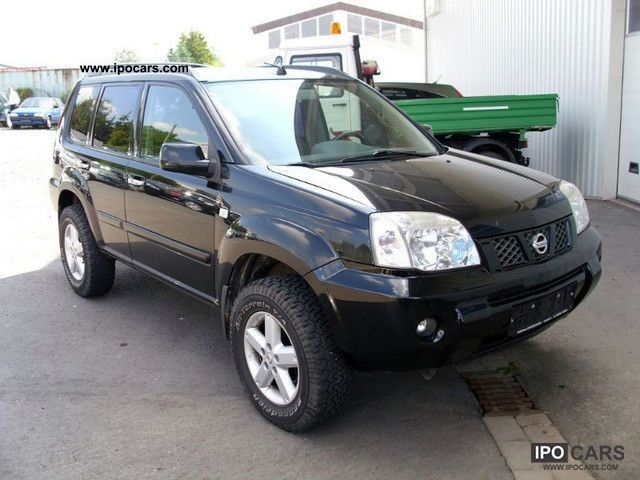 2004 nissan x trail 2 5 4x4 off road sport top condition car photo and specs
