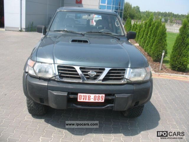 2000 Nissan  Patrol GR Off-road Vehicle/Pickup Truck Used vehicle photo
